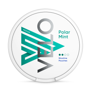 VELO Polar Mint Slim Normal 6mg – Nicotine Pouches UK (20 Pack)