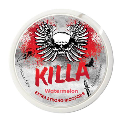 KILLA Watermelon Slim Extra Strong 16mg - Nicotine Pouches UK (20 Pack)