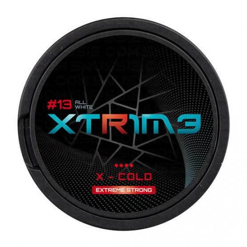 XTRIME X-Cold Extreme Strong 30mg - Nicotine Pouches UK (20 Pack)