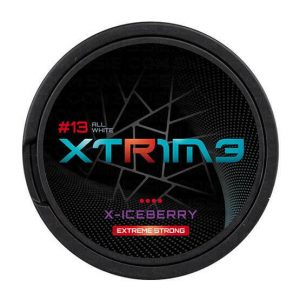 XTRIME X-Iceberry Extreme Strong 30mg - Nicotine Pouches UK (20 Pack)
