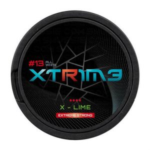 XTRIME X-Lime Extreme Strong 30mg - Nicotine Pouches UK (20 Pack)