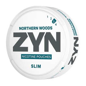 ZYN Northern Woods Slim Medium-Strong 12mg - Nicotine Pouches (20 Pack)