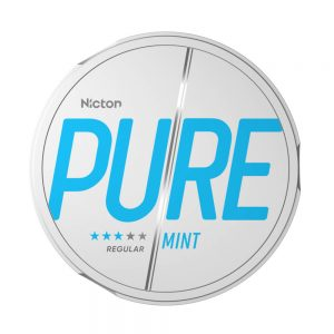 NICTON PURE Mint Strong 10mg – Nicotine Pouches UK
